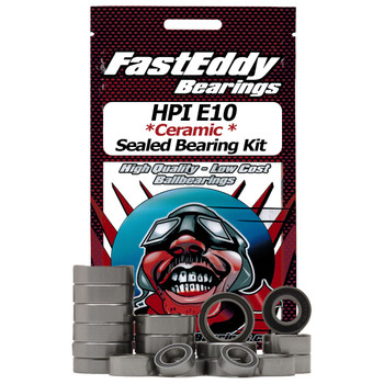 HPI E10 Ceramic Rubber Sealed Bearing Kit