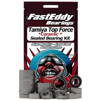 Tamiya Top Force Ceramic Rubber Sealed Bearing Kit (Kraft-Keramik-Gleitlager)