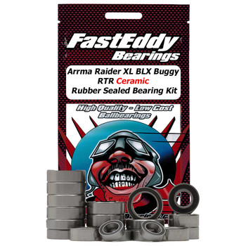 Arrma Raider XL 2wd BLX Buggy RTR Ceramic Rubber Sealed Bearing Kit