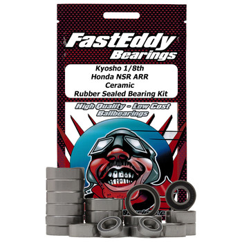 Kyosho 1/8th  NSR ARR Ceramic Rubber Sealed Bearing Kit