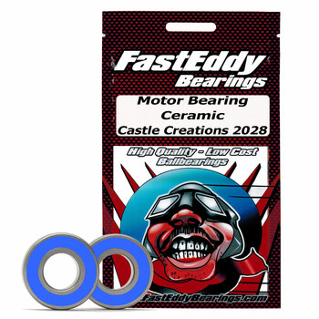 Castle Creations 2028 Ceramic Rubber Sealed Bearing Kit
