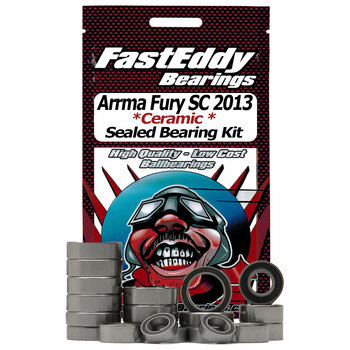 Arrma Fury SC 2013 2wd Ceramic Rubber Sealed Bearing Kit