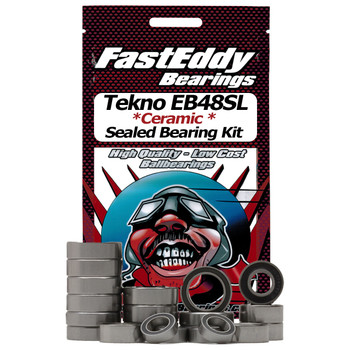 Tekno RC EB48SL Ceramic Rubber Sealed Bearing Kit