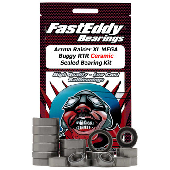 Arrma Raider XL 2wd MEGA Buggy RTR Ceramic Sealed Bearing Kit