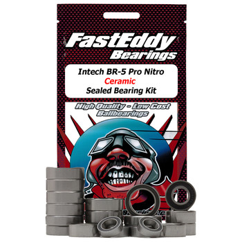 Intech BR-5 Pro Nitro Ceramic Sealed Bearing Kit