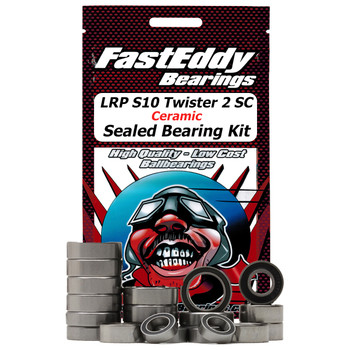 LRP S10 Twister 2 SC Ceramic Sealed Bearing Kit-Not Available