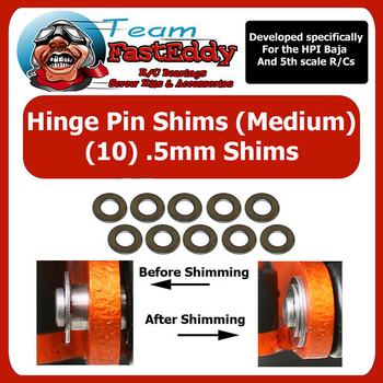 Hinge Pin Shim Kit .5mm