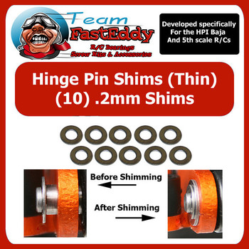 Hinge Pin Shim Kit .2mm