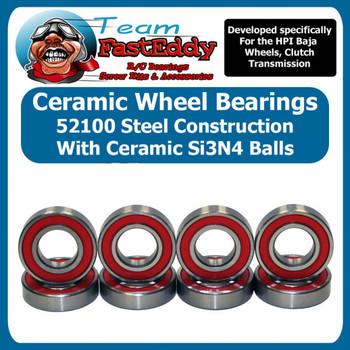 Ceramic Wheel Bearing Set HPI Baja