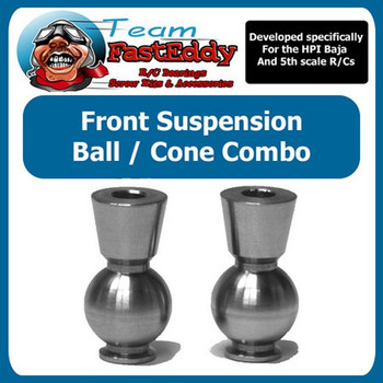Steel Ball / Cone Combo (Front Hub)