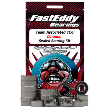 Team Associated TC6 Ceramic Sealed Bearing Kit