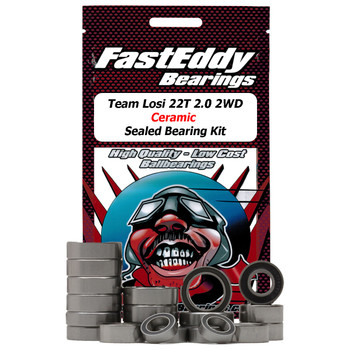 Team Losi 22T 2.0 2WD Rubber Ceramic Sealed Bearing Kit