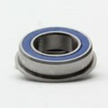 5x10x4 (FLANGED) Ceramic Rubber Sealed Bearing MF105-2RSC