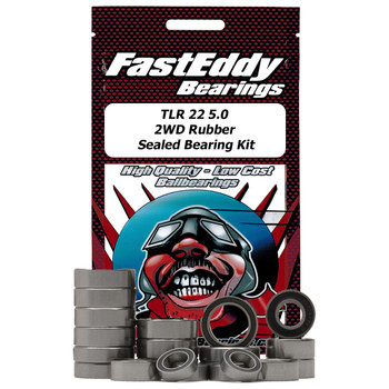 TLR 22 5.0  2WD Rubber  Sealed Bearing Kit