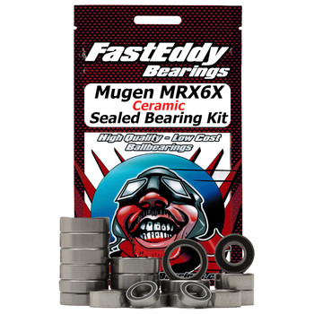 Mugen MRX6X Ceramic Sealed Bearing Kit