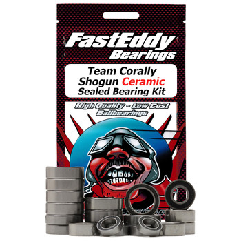 Team Corally Shogun Ceramic Sealed Bearing Kit
