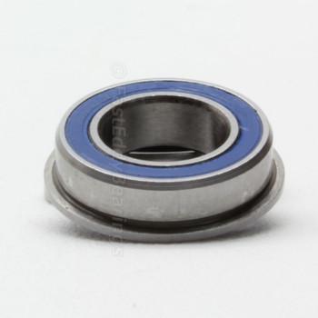 8x14x4 Flanged Ceramic Rubber Sealed Bearing MF148-2RSC