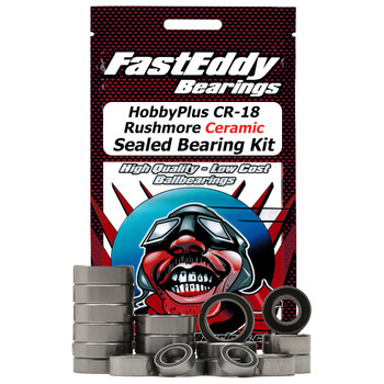 HobbyPlus CR-18 Rushmore Ceramic Sealed Bearing Kit
