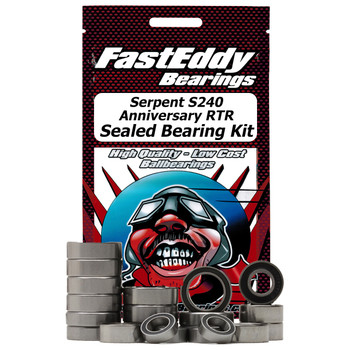 Serpent S240 40th Anniversary RTR Sealed Bearing Kit