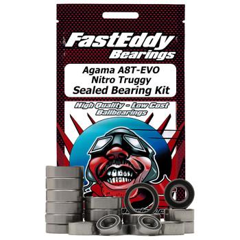 Agama A8T-EVO Nitro Truggy Sealed Bearing Kit