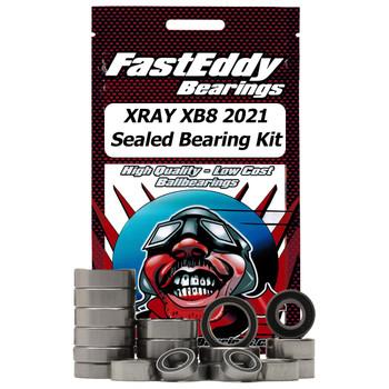 XRAY XB8 2021 Sealed Bearing Kit