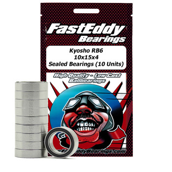 Kyosho RB6 10x15x4 Sealed Bearings (10 Units)