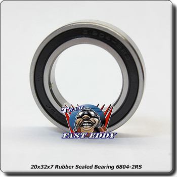 20x32x7 Rubber Sealed Bearing 6804-2RS