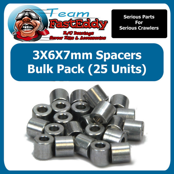 3X6X7 Spacers (25 Pack)