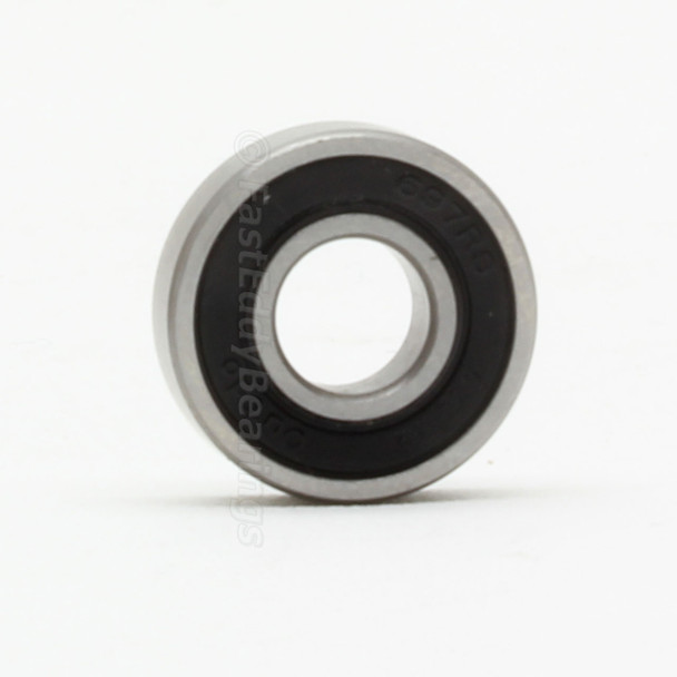 7x11x3 Gummi Sealed Bearing MR117-2RS