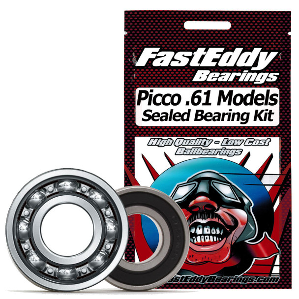 Picco All .61 Models Sealed Bearing Kit