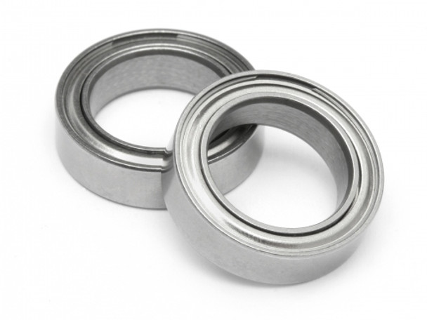 3x8x3 Metal Shielded Bearing MR83-ZZ