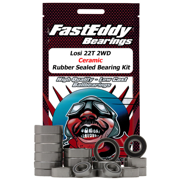 Losi 22T 2WD Ceramic Rubber Sealed Bearing Kit