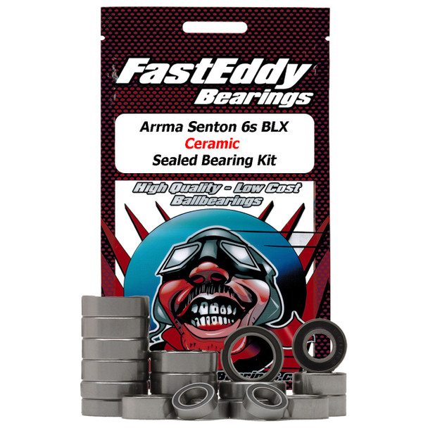 Arrma Senton 6S BLX Ceramic Rubber Sealed Bearing Kit