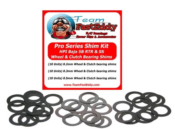 Pro Series Shim Kit Rad / Kupplung HPI Baja