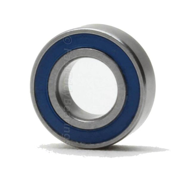 7x19x6 Ceramic Rubber Sealed Bearing 607-2RSC (TFE5810)