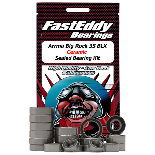Arrma Big Rock 3S BLX Ceramic Sealed Bearing Kit