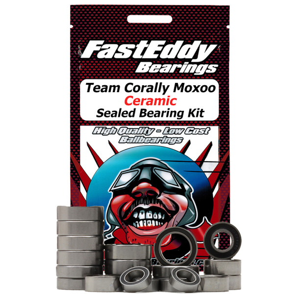 Team Corally Moxoo Ceramic Sealed Bearing Kit