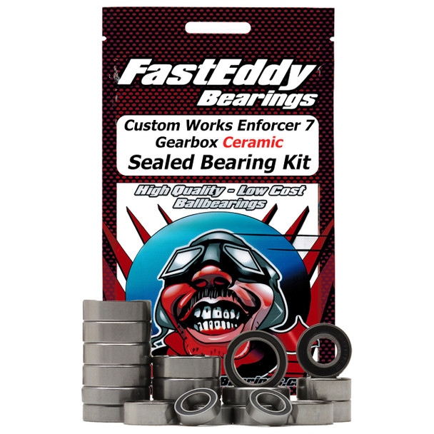 Custom Works Enforcer 7 Gearbox Ceramic Sealed Bearing Kit