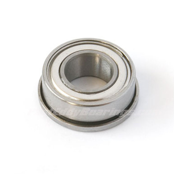 1/4x3/8x1/8 (FLANGED) Metal Shielded Bearing FR168-ZZ