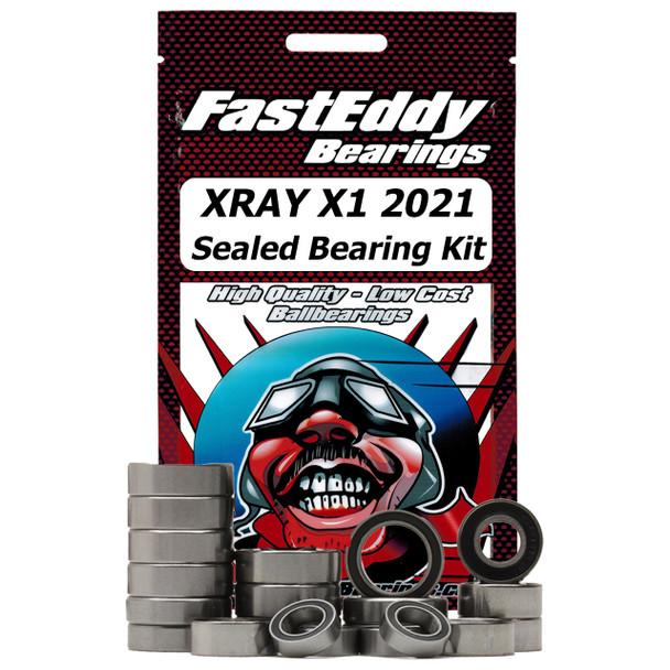 XRAY X1 2021 Sealed Bearing Kit