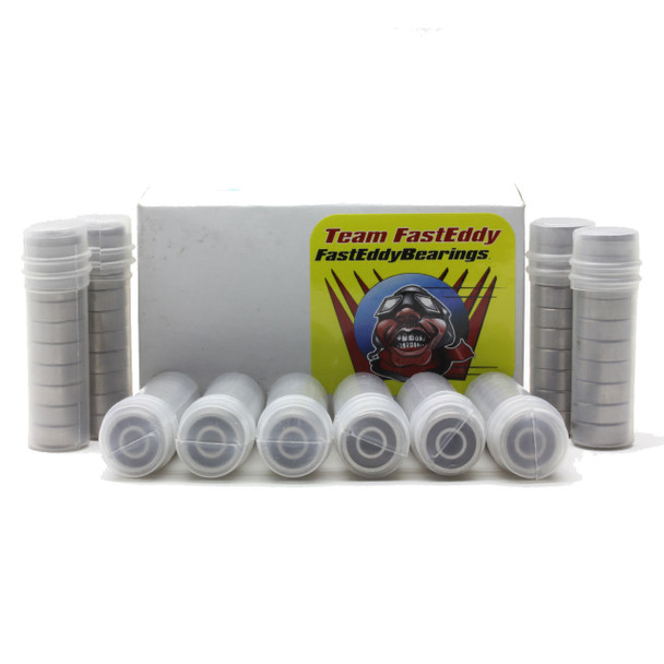 1/8x1/4x7/64 Rubber Sealed Bearing R144-2RS (100 Units)