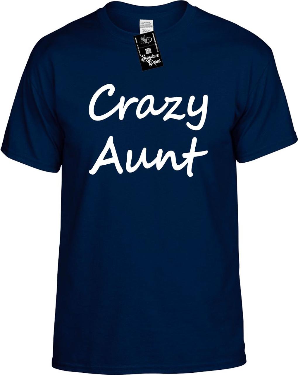 c61f8ea2638a Crazy Aunt Youth Novelty T-Shirt