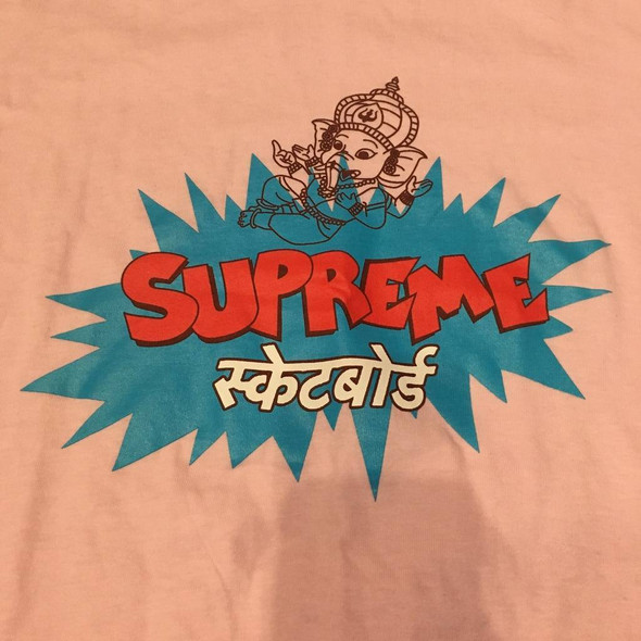 Supreme Ganesh Tee Pink S/S 18' Sz M