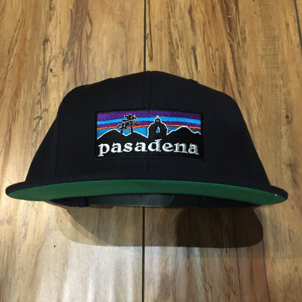 From The Ground Up Pasadena Navy Snap Back Hat
