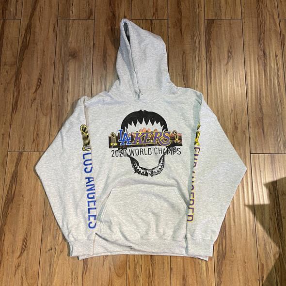 .Endangeredla 2020 Champions Hoodie Grey Sz M