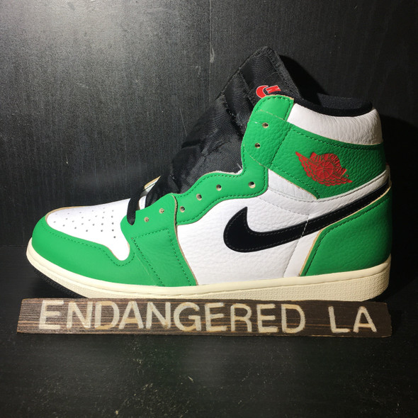 Air Jordan 1 Lucky Green Sz 9(M) / 10.5(W)