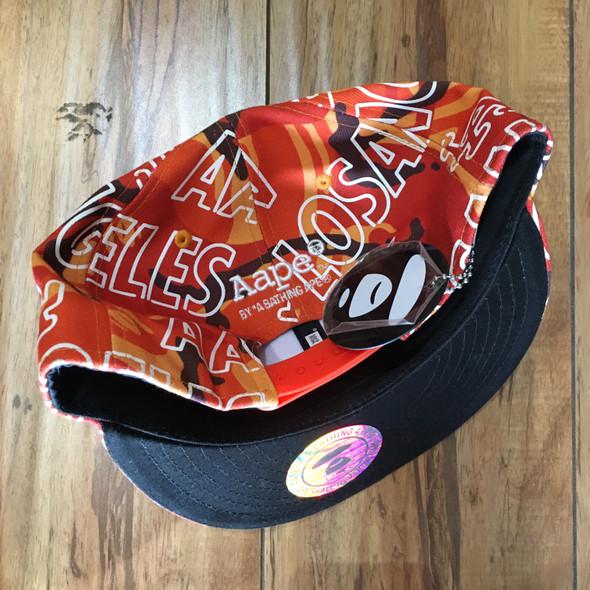 Bape Hat Snapback Camo