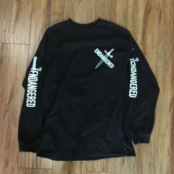 .Endangeredla L/S Tee Black Sz XL