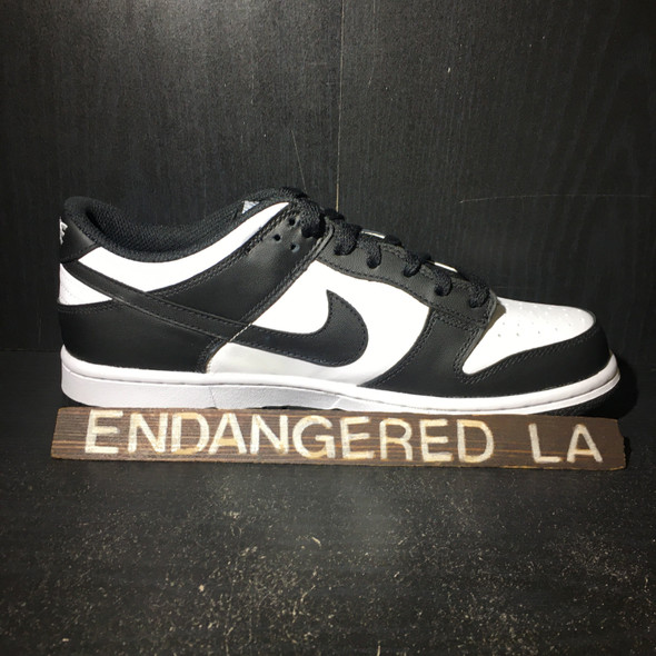 Nike Dunk Low Black White Sz 7.5W