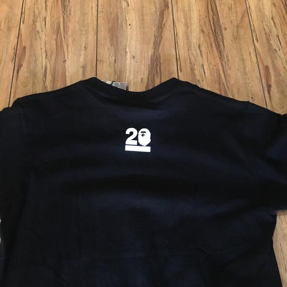 Bape 20 Tee Black Sz M